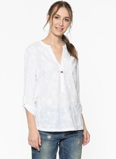 Napapijri Gömlek Beyaz